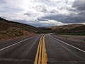 2014-08-11 14 49 19 View east along U.S. Route 50 about 61.0 miles east of the Eureka County line near Ruth, Nevada.JPG