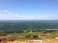 2014-08-25 14 13 34 View northwest from Mount Mohican along the Appalachian Trail in Worthington State Forest, New Jersey.JPG