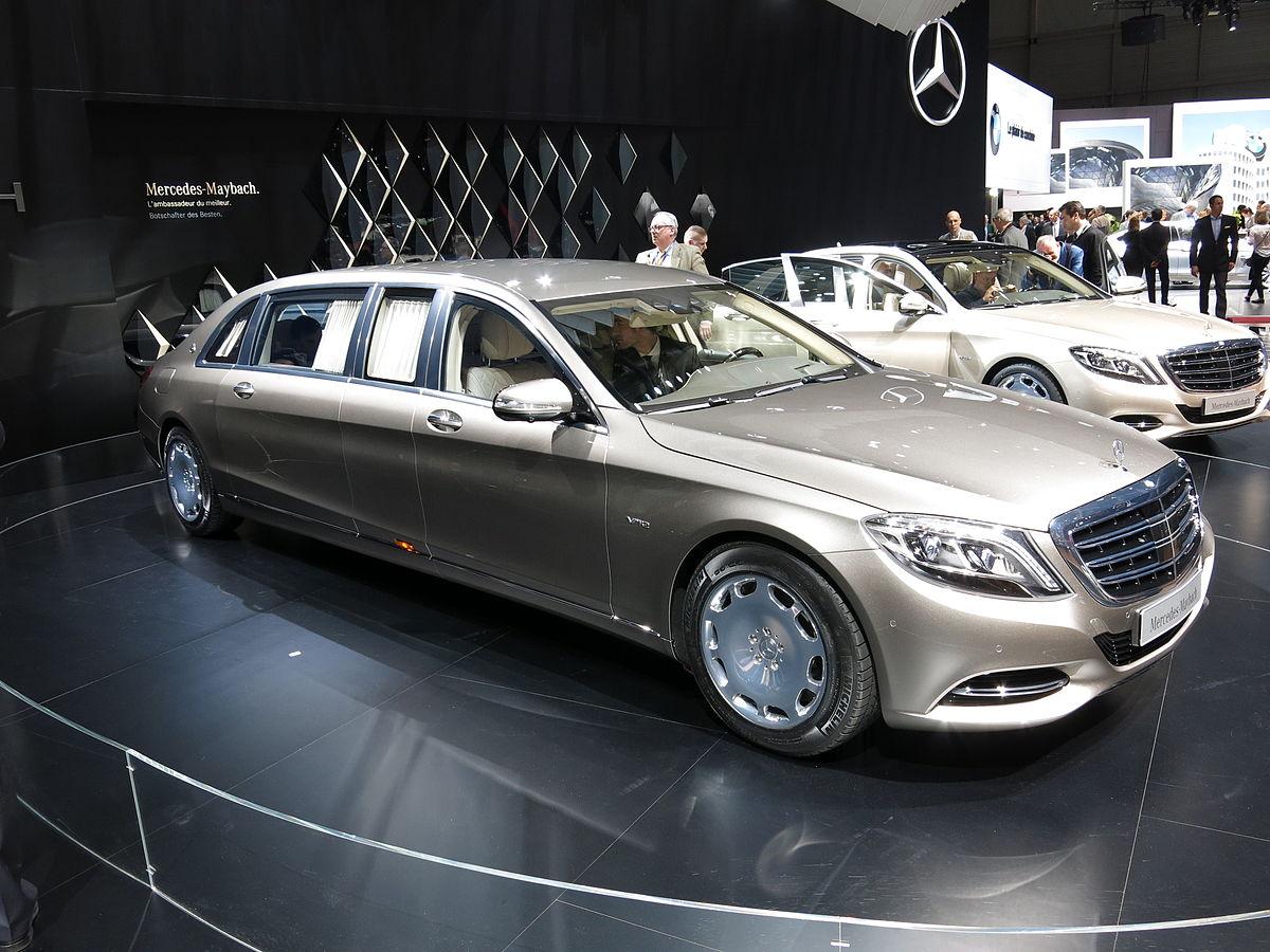 Mercedes S Klasse Vorged