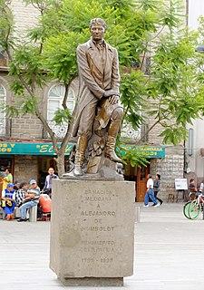 Statue of Alexander von Humboldt (Mexico City)