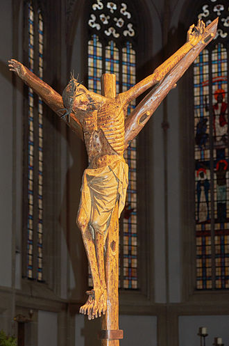 Forked cross - Image: 20150328 Bocholter Kreuz (09022)