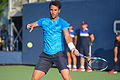 2015 US Open Tennis - Qualies - Jose Hernandez-Fernandez (DOM) def. Jonathan Eysseric (FRA) (20967175595).jpg