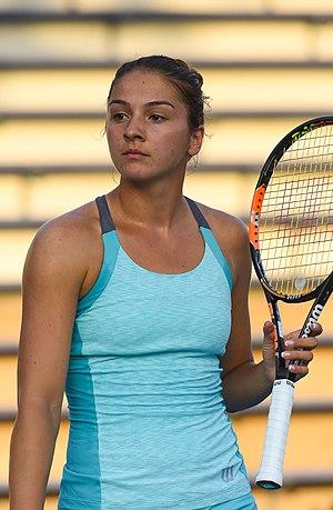 Margarita Gasparyan - Margarita Gasparyan at the 2015 US Open