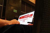 2015 Wikimania press conference - JS - 10.jpg