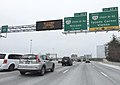 "2016-01-22 10 08 20 Variable message sign displaying ""Blizzard Warning - Fri-Sat"" on the southbound outer loop of the Capital Beltway (Interstate 495) at Exit 46 in Tysons Corner, Fairfax County, Virginia.jpg"