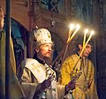 2016-07-22 22-57. Епископ Вениамин (Тупеко) служит в Спасо-Преображенском соборе Заславля.jpg