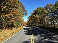 2016-10-25 11 20 05 View north along Shenandoah National Park's Skyline Drive just north of the Thorofare Mountain Overlook in Madison County, Virginia.jpg