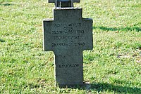 2017-09-28 GuentherZ Wien11 Zentralfriedhof Gruppe97 Soldatenfriedhof Wien (Zweiter Weltkrieg) (006).jpg