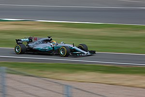 Mercedes AMG F1 W08 EQ Power+ - Hamilton achieved his fifth career Grand Slam and his third of the season during the British Grand Prix.