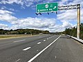 2018-10-29 13 20 38 View north along Virginia State Route 286 (Fairfax County Parkway) at the exit for Virginia State Route 620 (Braddock Road) in Vannoy Acres, Fairfax County, Virginia.jpg