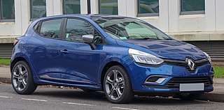 Renault Clio supermini car produced by Renault