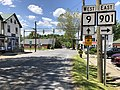 2019-05-16 13 46 42 View west along West Virginia State Route 9 (Hedgesville Road) at West Virginia State Route 901 (Mary Street) in Hedgesville, Berkeley County, West Virginia.jpg