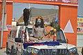 2019 Kumbh Mela - Naga Baba Sits On Truck - 14 Jan 2019.jpg