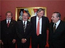 220px 20 A%C3%B1os del Mercosur Iguazu Sarney Lula Kirchner Alfons%C3%ADn Bielsa 30 nov 05 presidencia govar 2