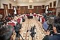 21-05-14- Quito Ecuador,Canciller Ricardo Patiño conversó con medios de comunicación sobre la universalización del SIDH y Día Internacional contra Chevron-8 (14052673168).jpg