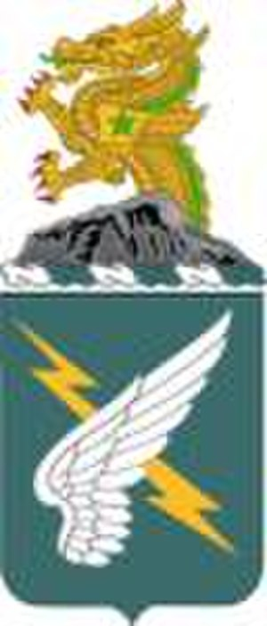 25th Aviation Regiment (United States) - Coat of arms