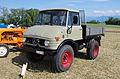 3ème Salon des tracteurs anciens - Moulin de Chiblins - 18082013 - Unimog 421 - 1971 - gauche.jpg