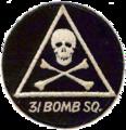 31st Bombardment Squadron - B-36- Emblem.png