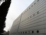 358 Arxiu de la Corona d'Aragó, façana del c. Almogàvers.JPG