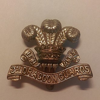 3rd Dragoon Guards - Badge of the 3rd Dragoon Guards
