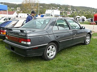 Peugeot 405 - Peugeot 405 Mi 16, USA version