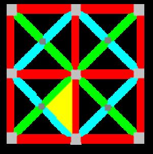 Tetrakis square tiling - Image: 442 symmetry 000