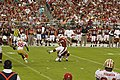 49ers at AzCardinals 2009 Neil Rackers kick.jpg