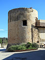 562 Torre del Célio, al barri de Remolins (Tortosa), des de la travessia del Mur.JPG