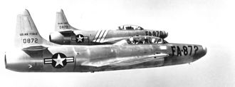 4707th Air Defense Wing - F-94Bs of the wing's 59th FIS