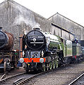 60163 Tornado at Tyseley Locomotive Works Tyseley 101 Gala 28 June 2009 pic 7.jpg