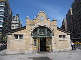 72nd Street station original entrance