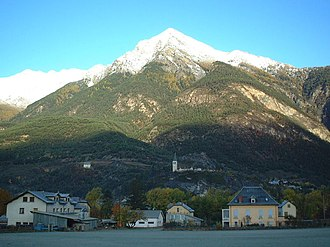 Communes of the Alpes-de-Haute-Provence department - Image: 800px Pointe fine 3