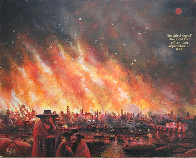 8 The Great Fire of London 1666