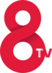 Logotip de 8tv