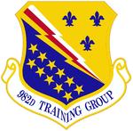 982d Training Gp emblem.png