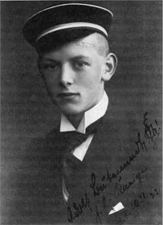 Adolf Butenandt - Adolf Friedrich Johann Butenandt in 1921
