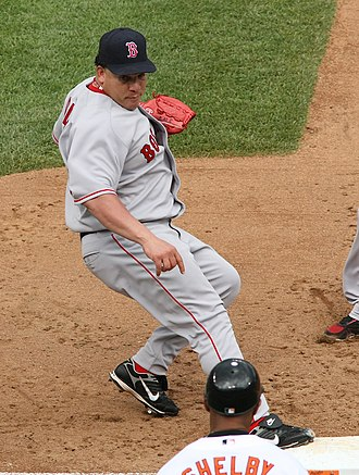 Bartolo Colón - Colón with the Boston Red Sox in 2008