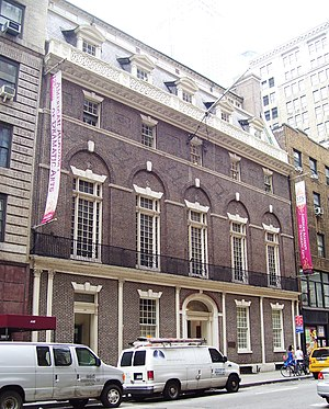American Academy of Dramatic Arts - The New York City location in the former Colony Club building