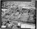 AERIAL VIEW, LOOKING NORTHWEST - William Enston Home, 900 King Street, Charleston, Charleston County, SC HABS SC,10-CHAR,354-34.tif