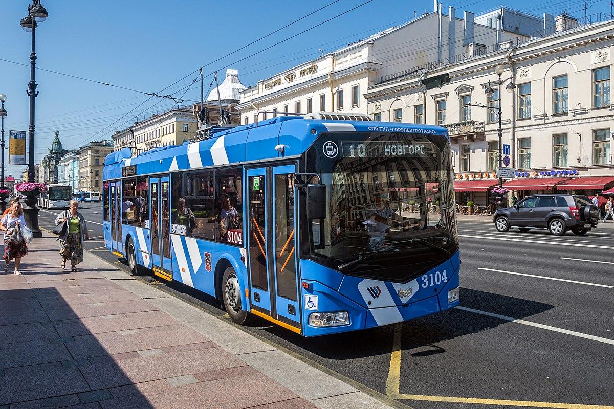 8f4d91e55dc1a Санкт-петербургский троллейбус — Википедия
