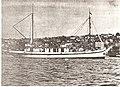 ALEUTIAN NATIVE coming into Seattle from Aleutians Kanaga Island Ranching fall 1929 04.jpg