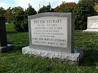 ANCExplorer Potter Stewart grave.jpg