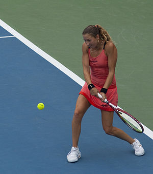 Shahar Pe'er - Pe'er at the 2010 ASB Classic