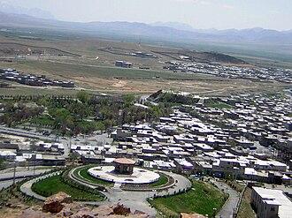Azna, Lorestan - Image: AZNA ازنا آلاچیق