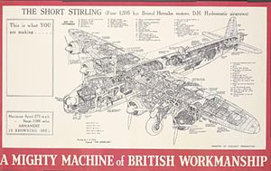 Arthur Gouge - A Mighty Machine of British Workmanship poster at the IWM
