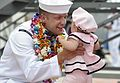 A Sailor greets his daughter. (13944428637).jpg