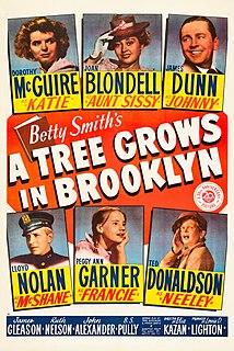 <i>A Tree Grows in Brooklyn</i> (1945 film) 1945 American drama film by Elia Kazan