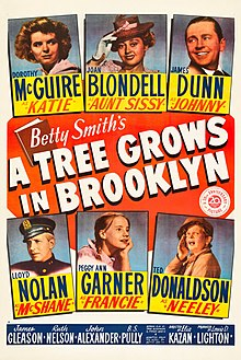 A Tree Grows in Brooklyn (1945 poster).jpg