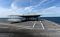 A U.S. Navy X-47B Unmanned Combat Air System demonstrator aircraft launches from the flight deck of the aircraft carrier USS George H.W. Bush (CVN 77) May 14, 2013, in the Atlantic Ocean 130514-N-YZ751-630.jpg