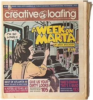 Creative Loafing Publisher in Atlanta, Georgia, US
